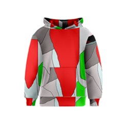 Colorful abstraction Kids  Pullover Hoodie