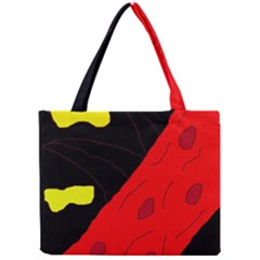 Red abstraction Mini Tote Bag