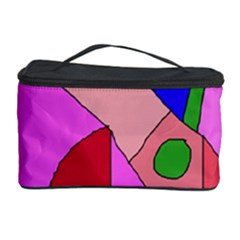 Pink abstraction Cosmetic Storage Case