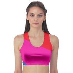 Colorful abstraction Sports Bra