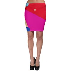 Colorful abstraction Bodycon Skirt