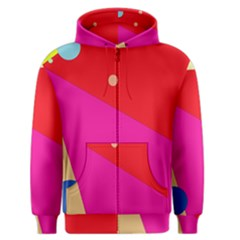 Colorful abstraction Men s Zipper Hoodie