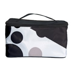 Gray, yellow and pink dots Cosmetic Storage Case