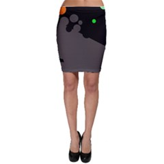 Colorful dots Bodycon Skirt