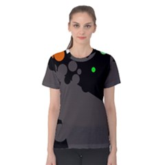 Colorful dots Women s Cotton Tee