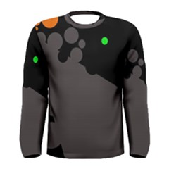 Colorful dots Men s Long Sleeve Tee