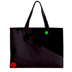 Colorful dots Zipper Mini Tote Bag