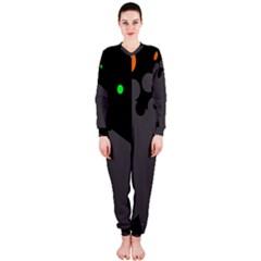 Colorful dots OnePiece Jumpsuit (Ladies)