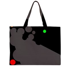Colorful dots Large Tote Bag
