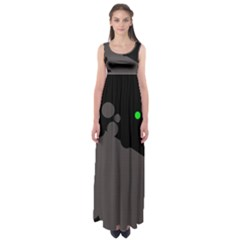 Colorful Dots Empire Waist Maxi Dress