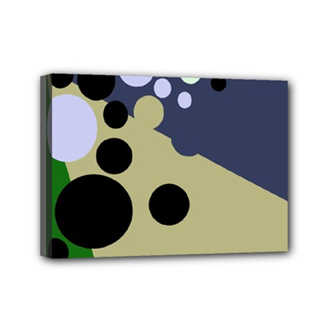 Elegant dots Mini Canvas 7  x 5