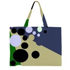 Elegant dots Large Tote Bag