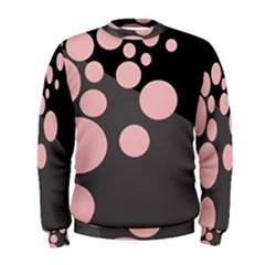 Pink dots Men s Sweatshirt