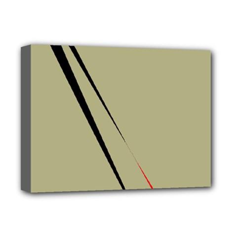 Elegant lines Deluxe Canvas 16  x 12