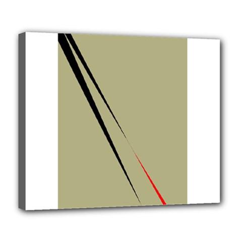 Elegant lines Deluxe Canvas 24  x 20