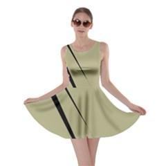 Elegant lines Skater Dress