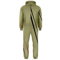 Elegant lines Hooded Jumpsuit (Men)