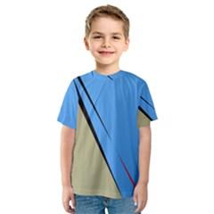 Elegant lines Kid s Sport Mesh Tee