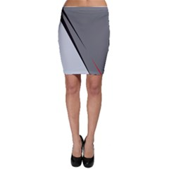 Elegant gray Bodycon Skirt
