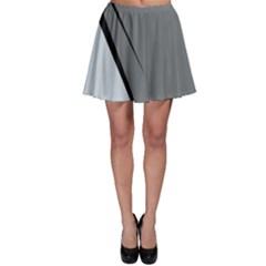 Elegant gray Skater Skirt