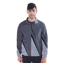 Elegant gray Wind Breaker (Men)