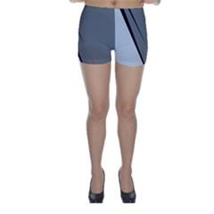 Elegant gray Skinny Shorts