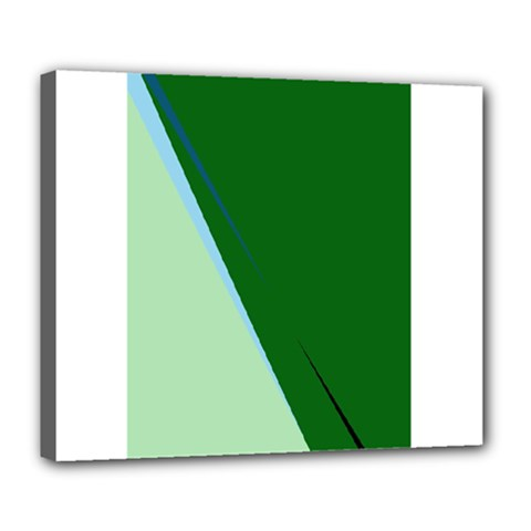 Green design Deluxe Canvas 24  x 20