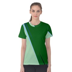 Green design Women s Cotton Tee