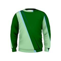Green design Kids  Sweatshirt