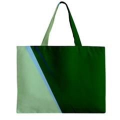 Green design Zipper Mini Tote Bag