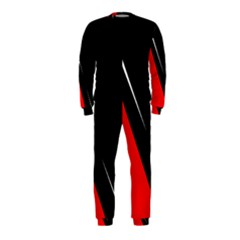 Black and red design OnePiece Jumpsuit (Kids)