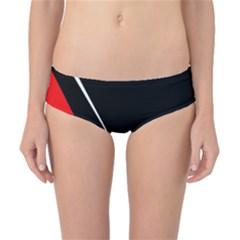 Black and red design Classic Bikini Bottoms