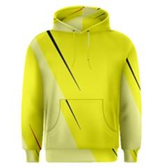 Yellow design Men s Pullover Hoodie