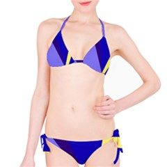Geometrical abstraction Bikini Set