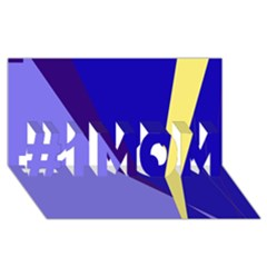 Geometrical abstraction #1 MOM 3D Greeting Cards (8x4)