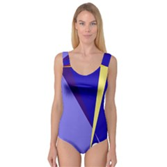Geometrical abstraction Princess Tank Leotard