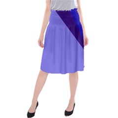 Geometrical abstraction Midi Beach Skirt