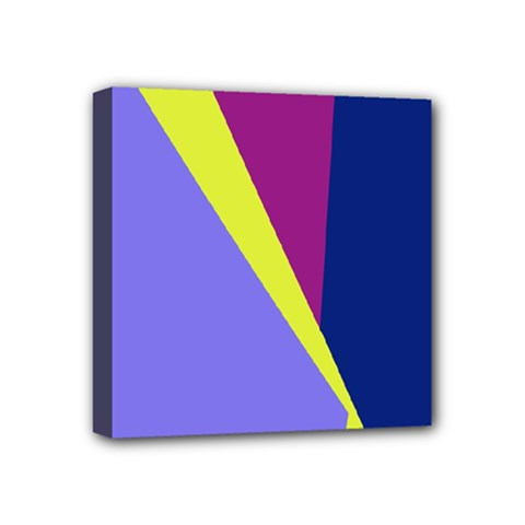 Geometrical abstraction Mini Canvas 4  x 4