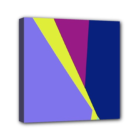 Geometrical abstraction Mini Canvas 6  x 6