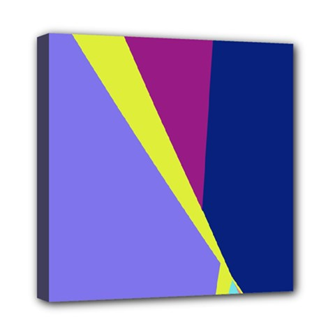 Geometrical abstraction Mini Canvas 8  x 8