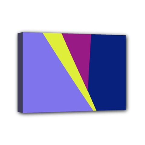 Geometrical abstraction Mini Canvas 7  x 5