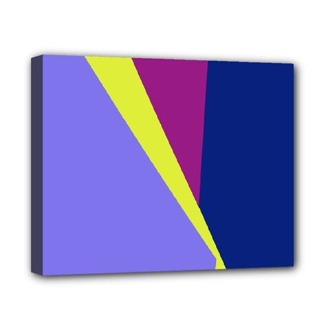 Geometrical abstraction Canvas 10  x 8