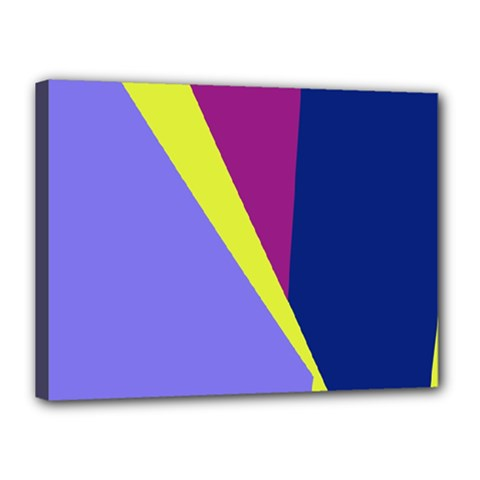 Geometrical abstraction Canvas 16  x 12