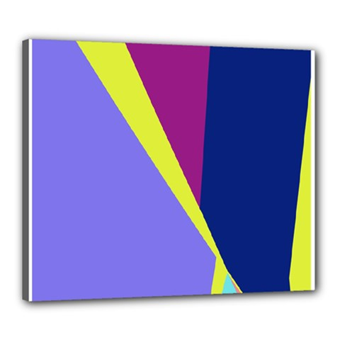 Geometrical abstraction Canvas 24  x 20