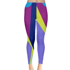 Geometrical abstraction Leggings
