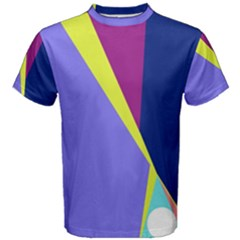 Geometrical abstraction Men s Cotton Tee