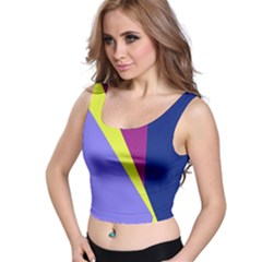 Geometrical abstraction Crop Top