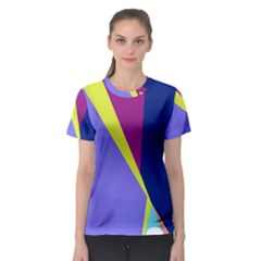 Geometrical abstraction Women s Sport Mesh Tee