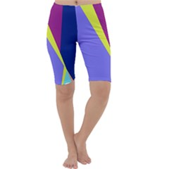 Geometrical abstraction Cropped Leggings