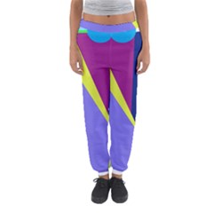 Geometrical Abstraction Women s Jogger Sweatpants